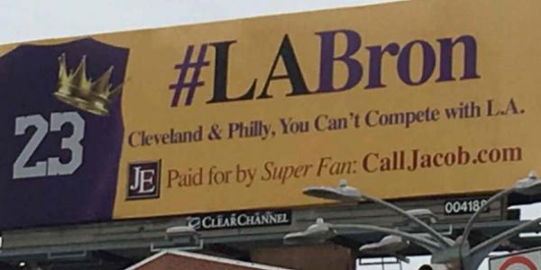 NBA-Star LeBron James soll doch bitte noch LA wechseln…